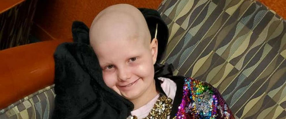 PHOTO: Hallie Beatrice Barnard, 11, known to loved ones as Hallie Bea, hasnt lost her sparkle as she continues fighting for her life.