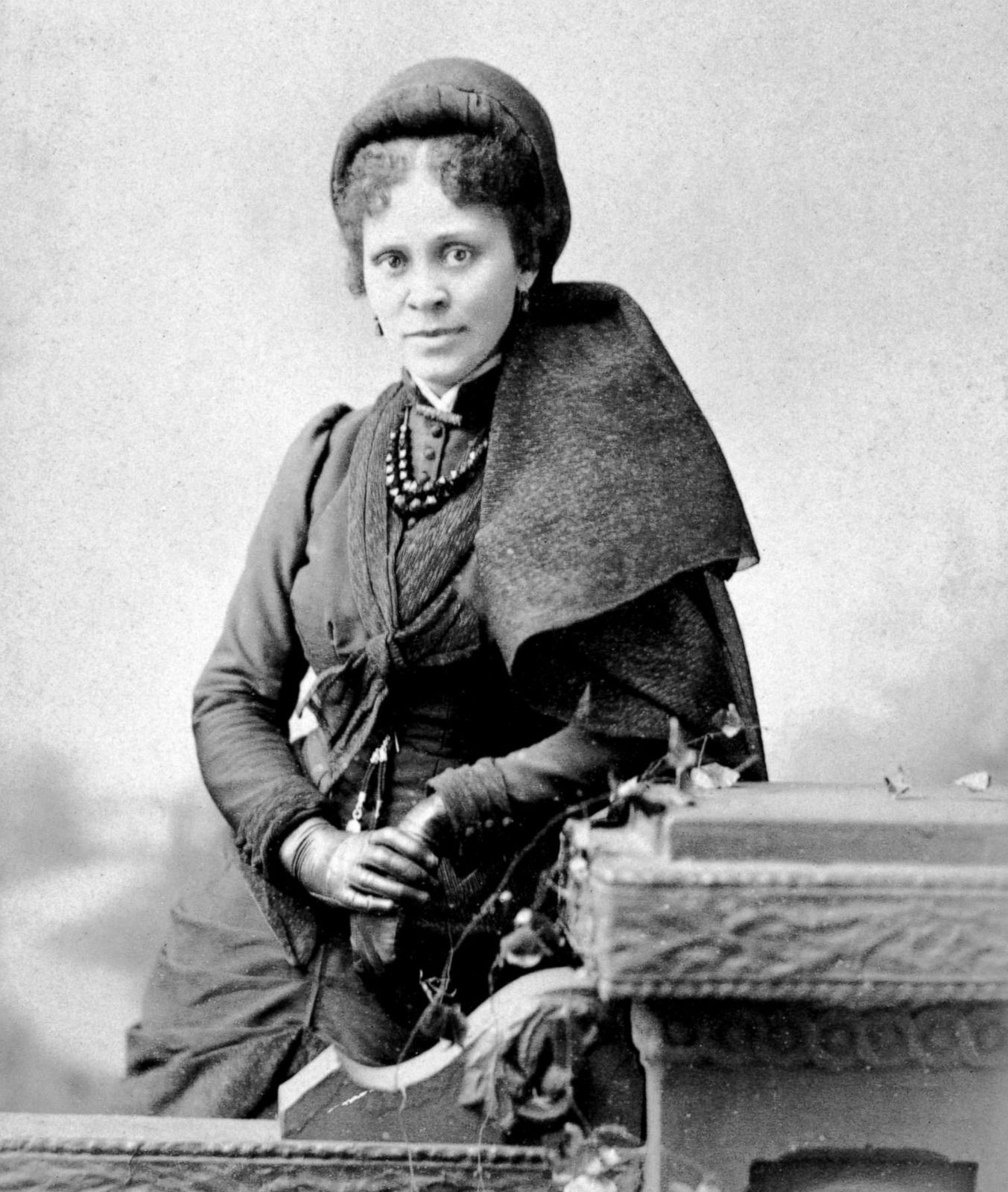 PHOTO: Educator, writer and activist Hallie Quinn Brown poses for a portrait, circa 1880s.