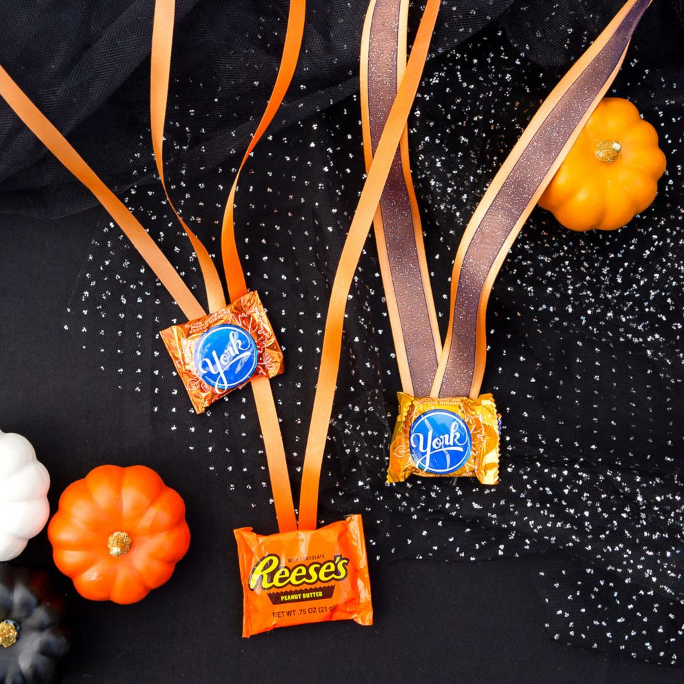 PHOTO: Halloween Candy Medals.