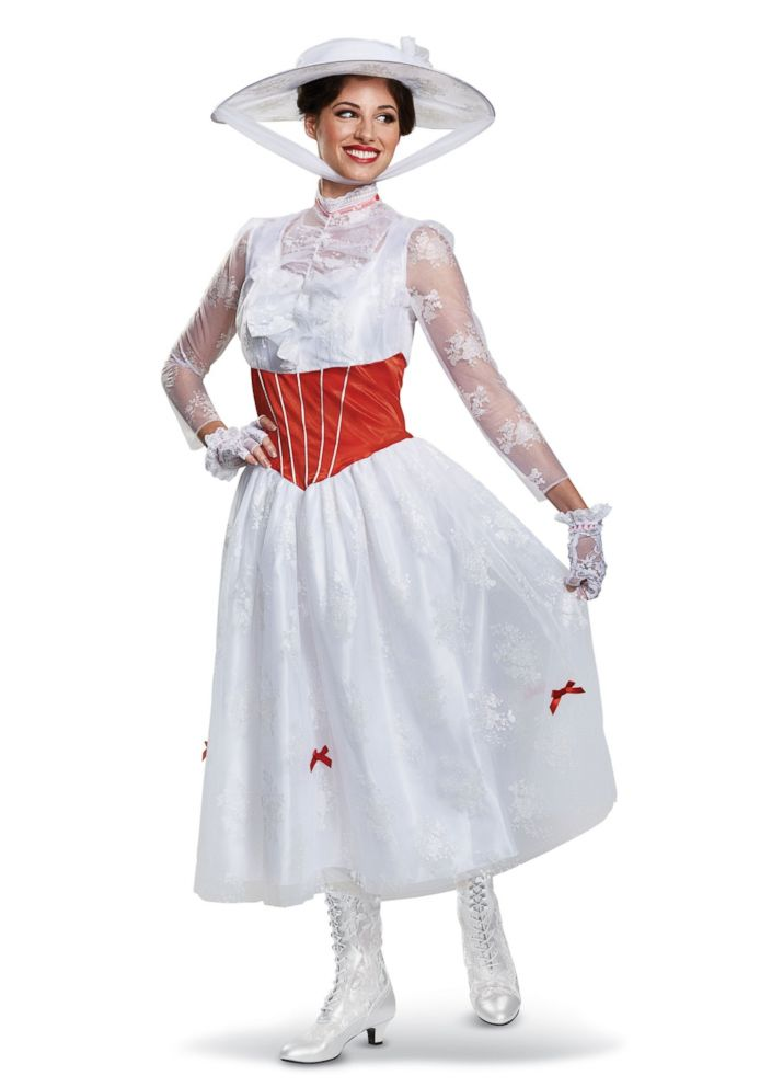 PHOTO: The Women's Deluxe Mary Poppins costume is available for $69.99.