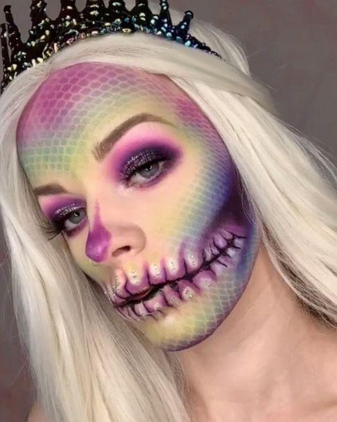 7 Tiktok Approved Halloween Makeup Ideas To Try This Season Gma