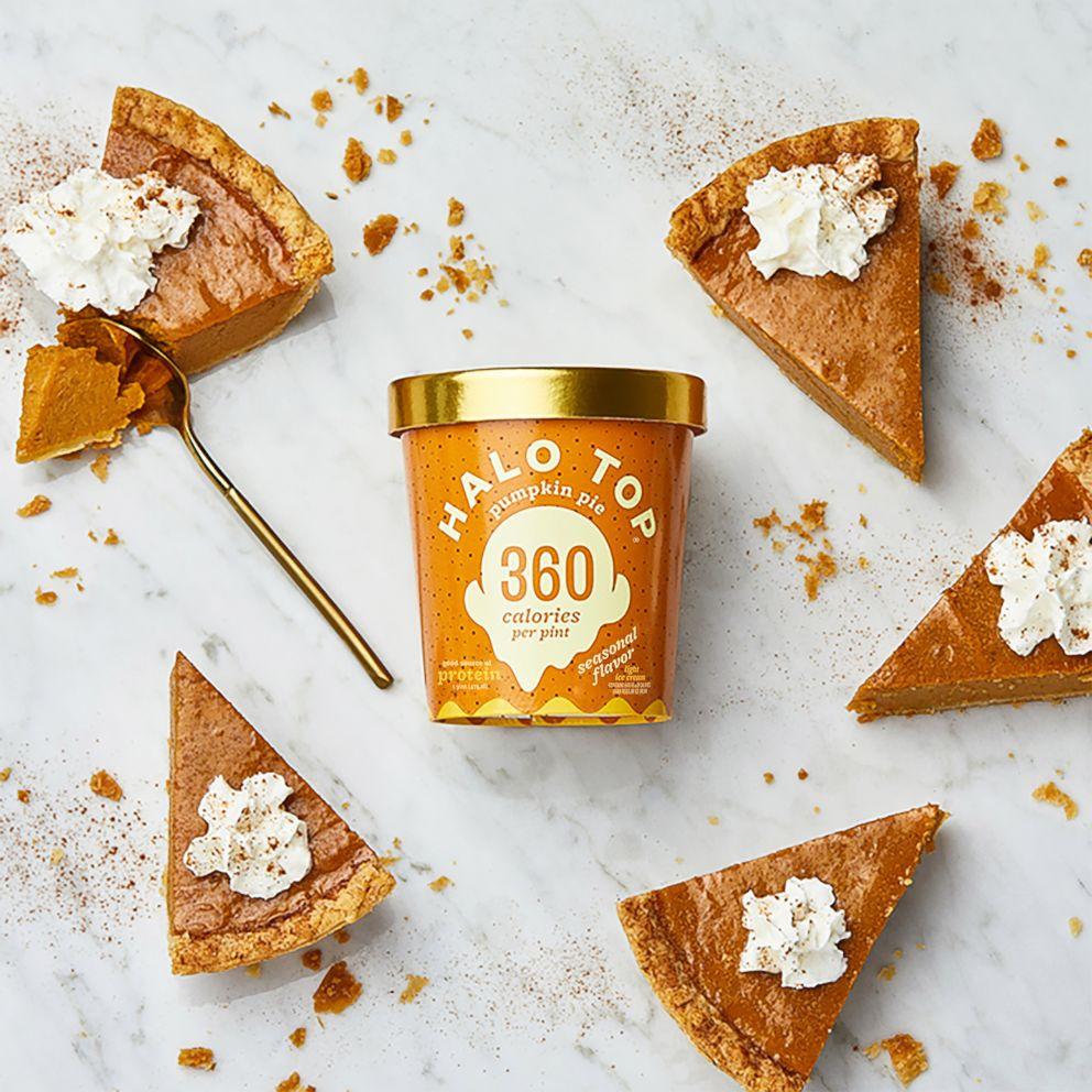 PHOTO: Halo Top pumpkin pie ice cream was the frozen dessert brands best seasonal seller.