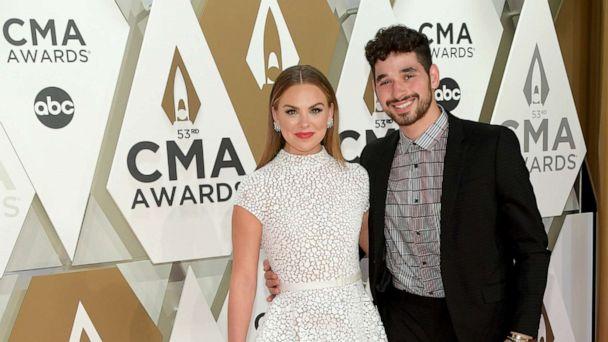 Hannah Brown hits CMA Awards with 'DWTS' partner Alan Bersten