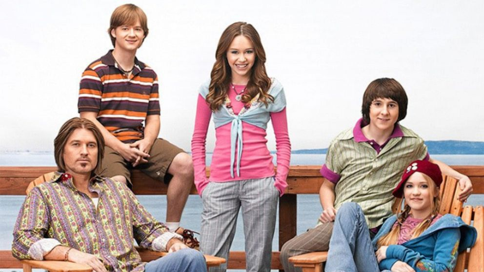 Miley Cyrus and more stars of childhood hit 'Hannah Montana' celebrate the show turning 13