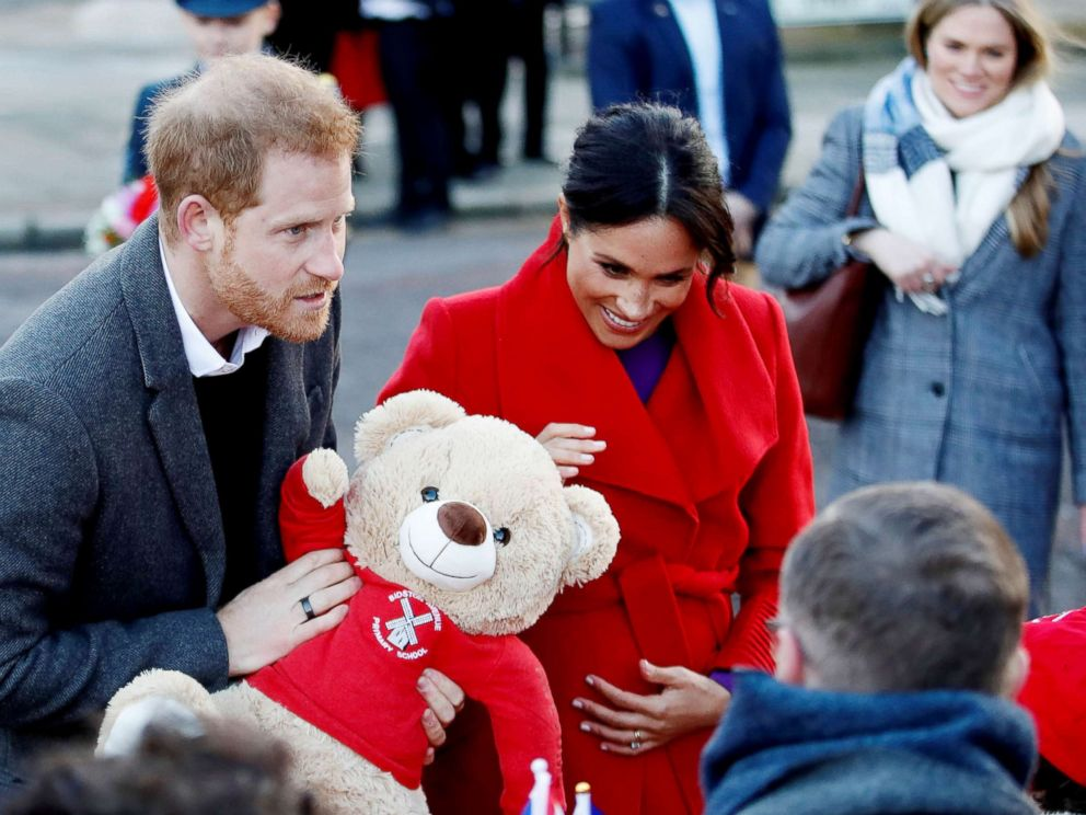 April baby for Duke and Duchess of Sussex, Meghan lets slip