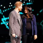 Britain's Prince Harry and Meghan, Duchess of Sussex, attend the WE Day UK event at the SSE Arena in Wembley, London, March 6, 2019.