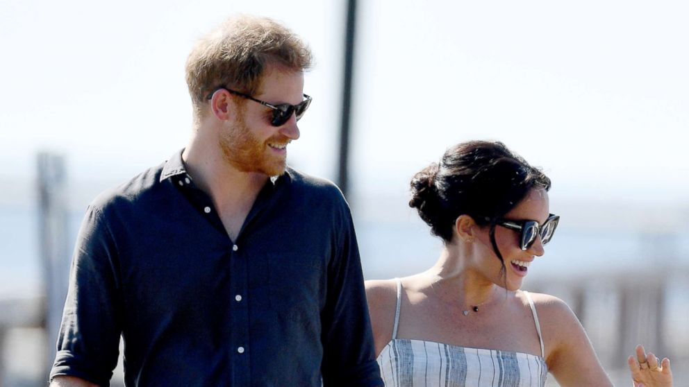 Prince Harry, The Duke of Sussex and Meghan Markle, The Duchess of Sussex visit Fraser Island, Australia, Oct. 22, 2018.
