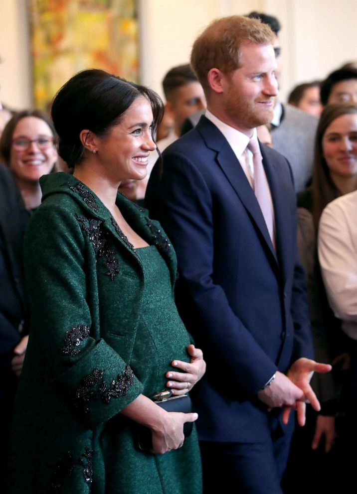 PHOTO: Meghan, Duchess of Sussex and Prince Harry, Duke of Sussex watch a musical performance as they attend a Commonwealth Day Youth Event at Canada House, March 11, 2019, in London, England.