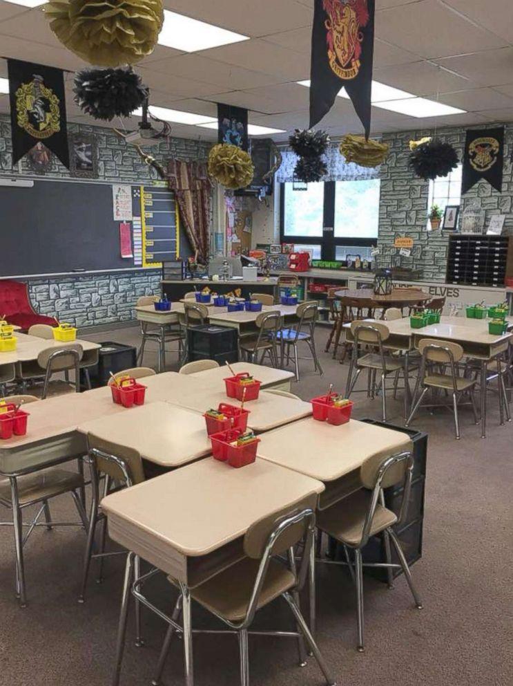 Teacher's wizarding Hogwarts classroom is pure magic for