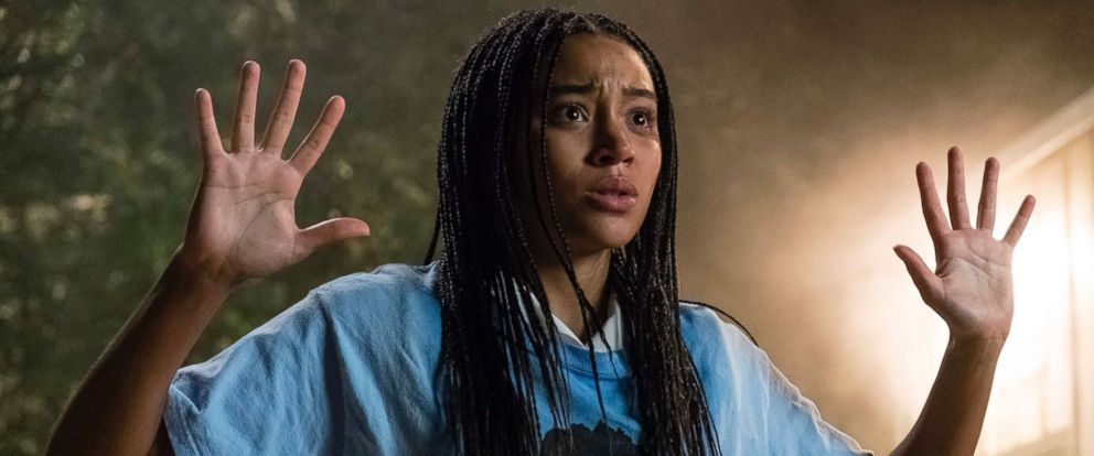 "PHOTO: A scene from ""The Hate U Give."""