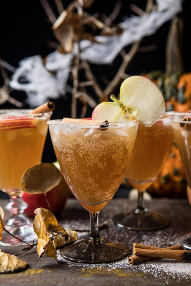 Haunted orchard cocktail from Half Baked Harvest.