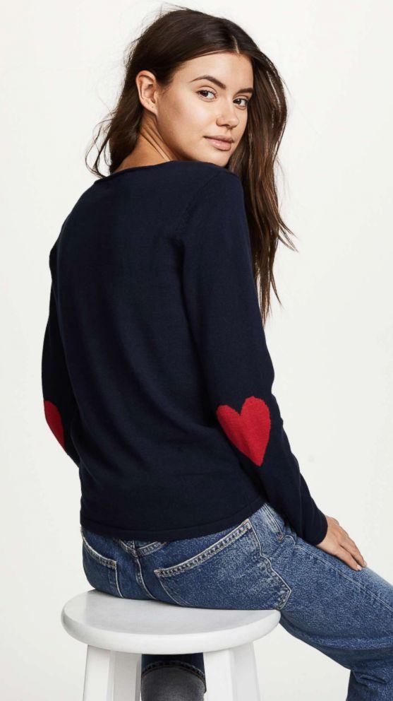 PHOTO: One by JK4, Heart Sweater, $84