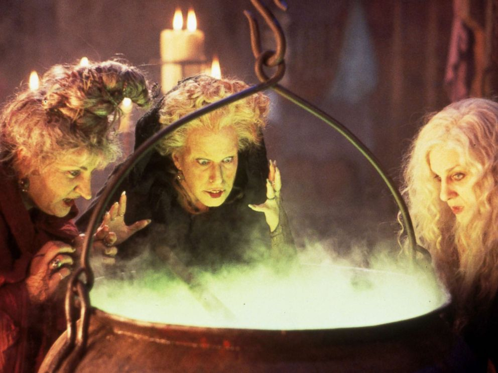 Photo A Scene From The 1993 Film Hocus Pocus