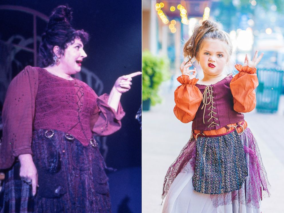 PHOTO: Landri Grabenstein, 6, will be Mary Sanderson from Hocus Pocus for Halloween.