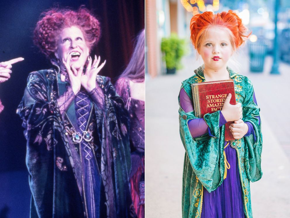 PHOTO: Maddi Grabenstein, 8, dresses as Winifred Sanderson for Halloween.
