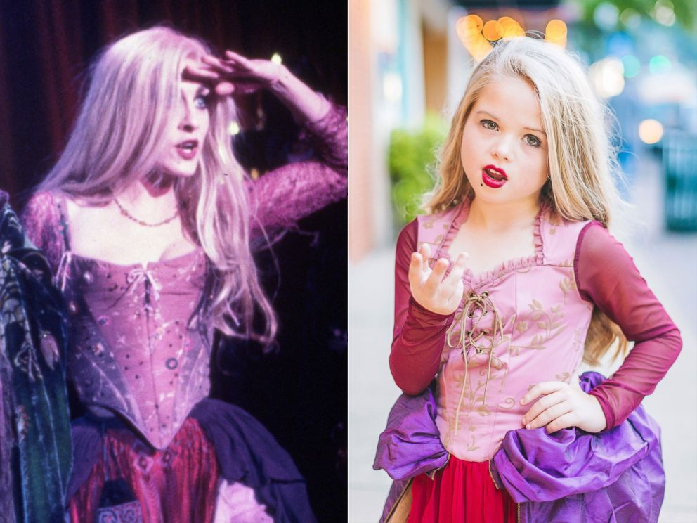 PHOTO: Alli Grabenstein, 8, dresses as Sarah Sanderson for Halloween.