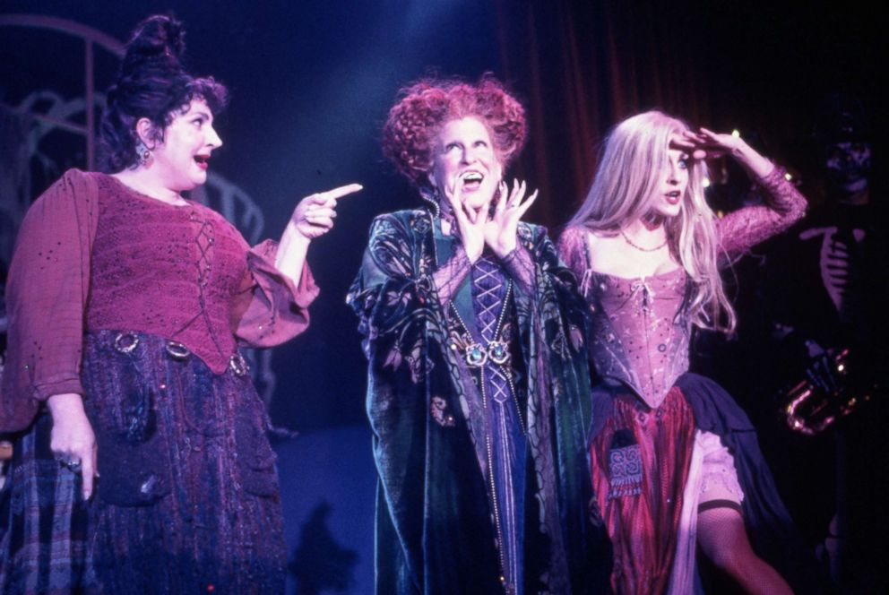 Real-life sisters channel Sanderson sisters from 'Hocus
