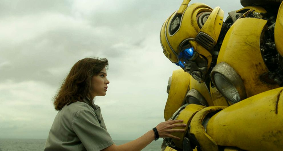 PHOTO: Hailee Steinfeld in a scene from Bumblebee.