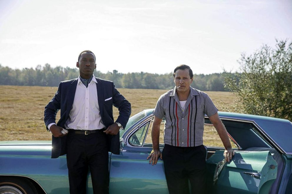 PHOTO: Mahershala Ali and Viggo Mortensen in a scene from Green Book.