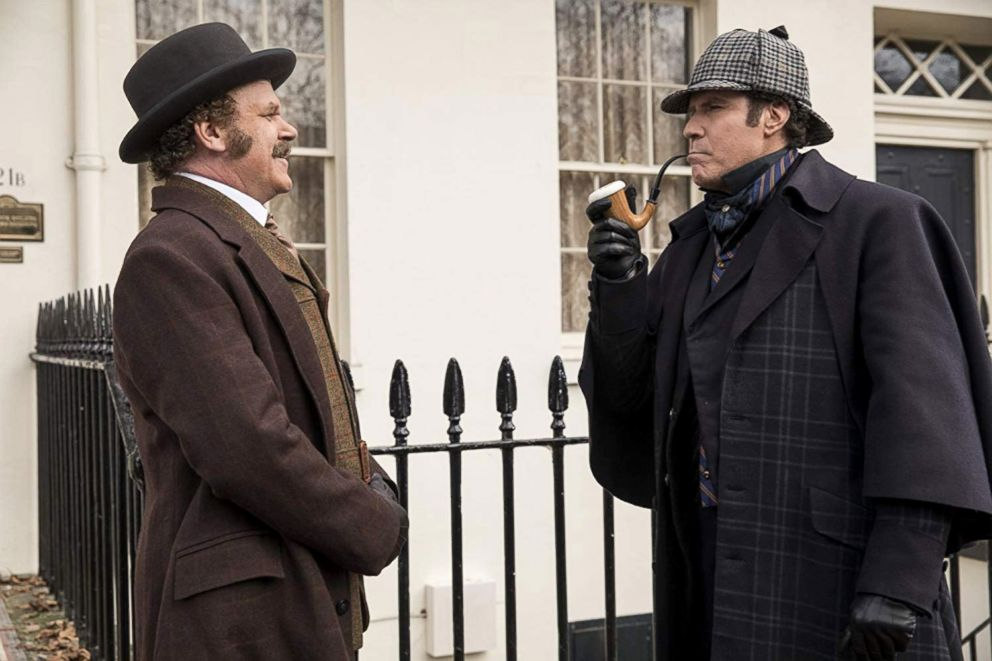PHOTO: John C. Reilly and Will Ferrell in a scene from Holmes & Watson.