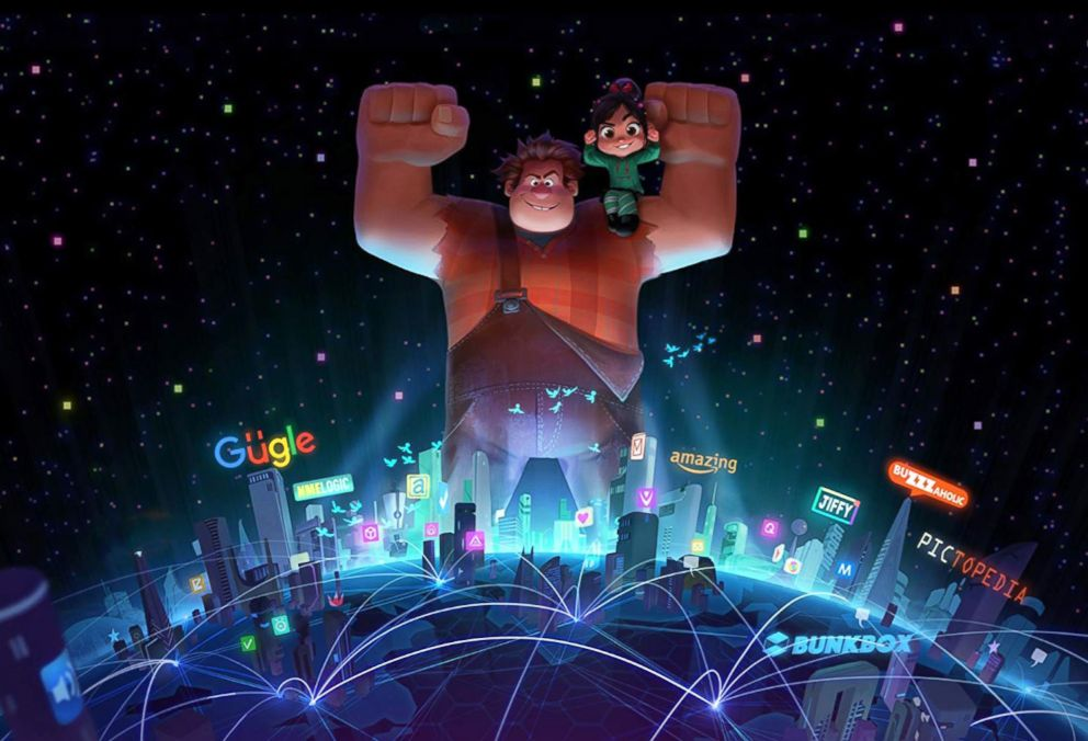 PHOTO: A scene from Ralph Breaks the Internet.