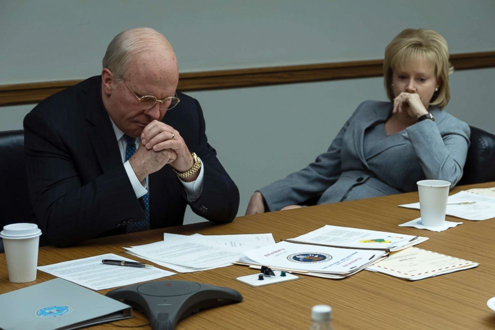 PHOTO: Christian Bale and Amy Adams in a scene from Vice.
