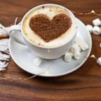 Hot chocolate with marshmallows is seen here in this undated stock photo.