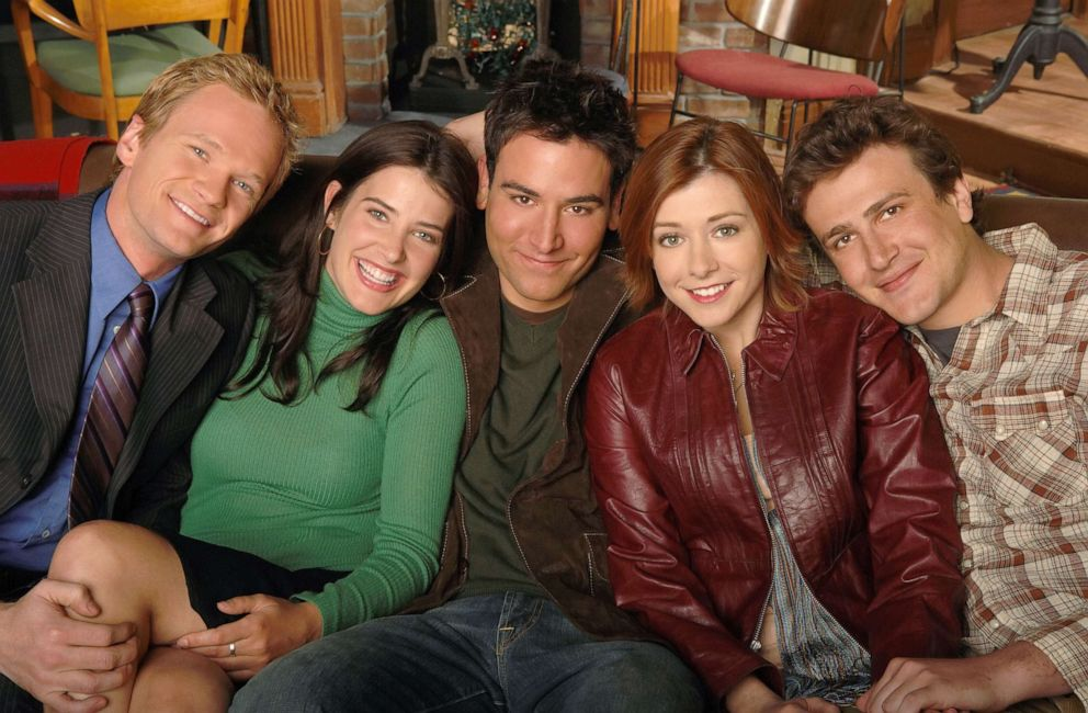 PHOTO: Neil Patrick Harris, Cobie Smulders, Josh Radnor, Alyson Hannigan and Jason Segel of the CBS Pilot How I Met Your Mother, in 2005.