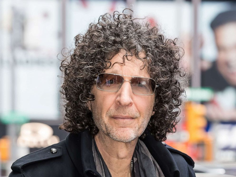 PHOTO: Howard Stern is seen arriving to the ABC studio for GMA, May 9, 2019, in New York.