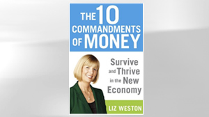 "PHOTO The book, ""The 10 Commandments of Money: Survive and Thrive in the New Economy"" is shown."