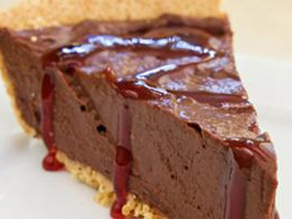 cherry chocolate mousse