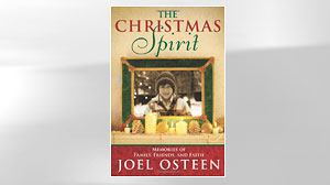 "PHOTO: The book ""The Christmas Spirit: Memories of Family, Friends, and Faith"" by Joel Osteen"