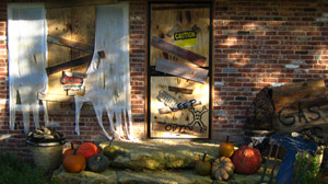 PHOTO Halloween How-To: DIY Haunted House Tips! Easy Instructions to Help You Haunt Your Home