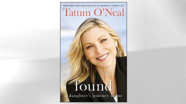 """PHOTO:Tatum ONeals Book, """"Found.. a Daughters Journey Home."""""""