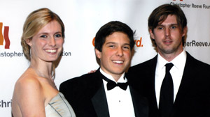 PHOTO Left to right: Alexandra Reeve Givens, Will Reeve, Matthew Reeve