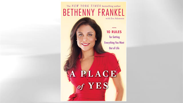 PHOTO The cover for Bethenny Frankels new book is shown.