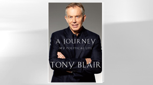 "PHOTO The cover of Tony Blair?s memoir, ""A Journey: My Political Life,"" is shown."