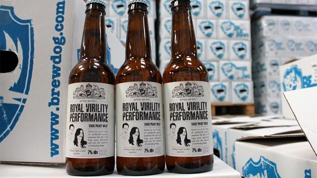 PHOTO:BrewDogs The Royal Virility Performance beer