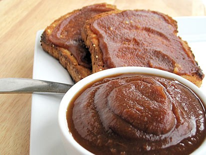 PHOTO: Amy Green shares her recipe for apple butter with Good Morning America.