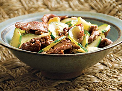 Photo: Stir-Fried Cucumber and Pork with Golden Garlic: Ring in the Chinese New Year With this Classic Dish