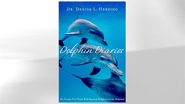 """PHOTO:Shown here is """"In Dolphin Diaries: My Twenty-Five Years with Spotted Dolphins in the Bahamas"""" book cover."""