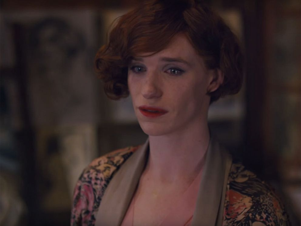 PHOTO: Eddie Redmayne in a screen grab from the trailer of The Danish Girl.