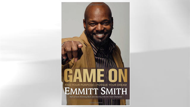 """PHOTO:Cover of Emmit Smiths book """"Game On."""""""