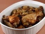 PHOTO:Stephanie ODeas 20 to 40 garlic clove chicken.