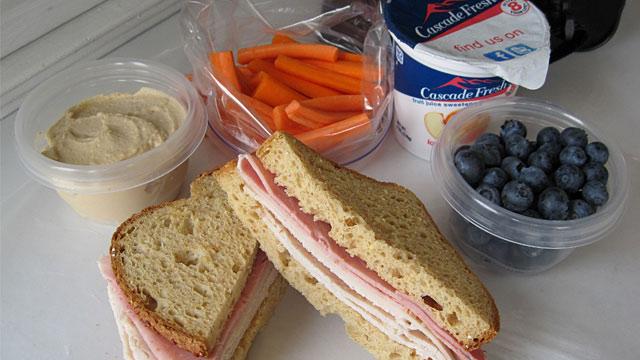 PHOTO:Gluten-free lunch