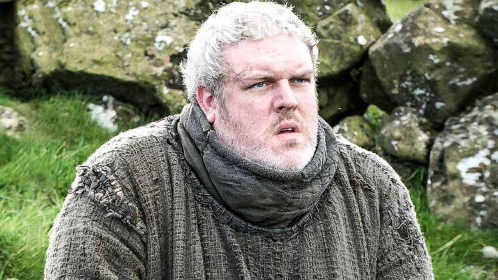 Kristian Nairn plays Hodor on 'Game of Thrones,' one of Winterfell's loyal servants.