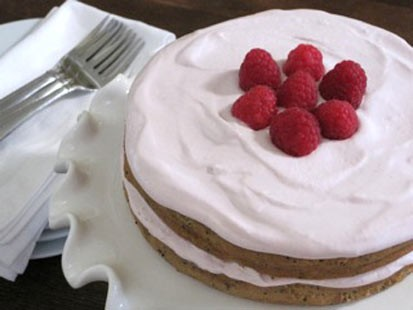 PHOTO:Amy Green whips up her classic lemon poppy cake with a ricotta frosting for Good Morning America.