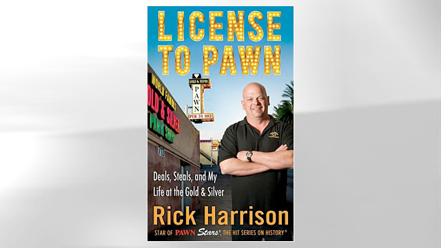 """PHOTO:Rick Harrisons book """"License to Pawn"""""""