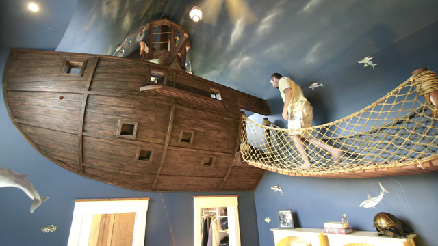 PHOTO: Childrens unique room designs can cost parents tens of thousands of dollars.
