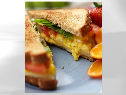 PHOTO An egg sandwich is shown in this file photo.